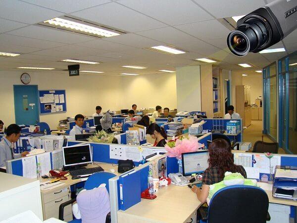 Lắp đặt hệ thống camera cho văn phòng