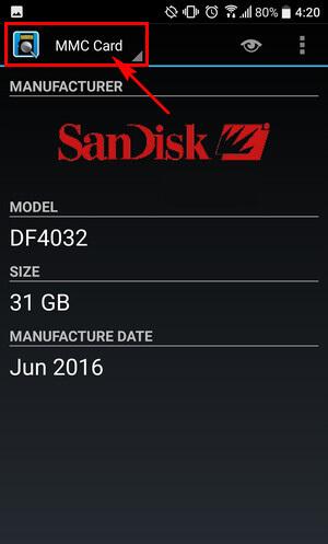 Cách kiểm tra thẻ nhớ Micro SD thật, giả bằng điện thoại Android